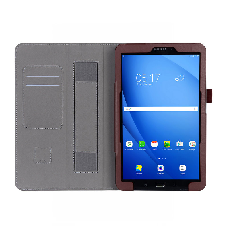 Tablet Case For Samsung Galaxy Tab A SM - T580 T585 T580N 10.1 cardcase PU Leather Flip Cover Shell High quality<br><br>Aliexpress