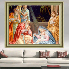 2017 Full,Diamond Embroidery,woman Religion Room Art Painting,Diamond Painting,Cross Stitch,Diamond Mosaic,Needlework,Christmas