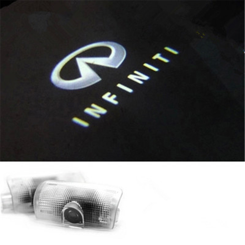 3D Car LED Courtesy Door Logo Laser Projector Light Ghost Shadow Light FOR Infiniti FX G/M/EX Series Q50L Q60/Q70 QX50/70/80<br><br>Aliexpress