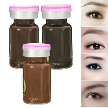 New 1pcs Tattoo Ink Manual Paint Pigments For Microblading Permanent Makeup Tattooing Eyebrow Eyeliner Lip 15ml Cosmetic Color