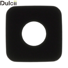 Dulcii Mobile Phone Parts for Galaxy S 5 G900 OEM Rear Camera Glass Lens for Samsung Galaxy S5 G900 (Glass Only)(China)