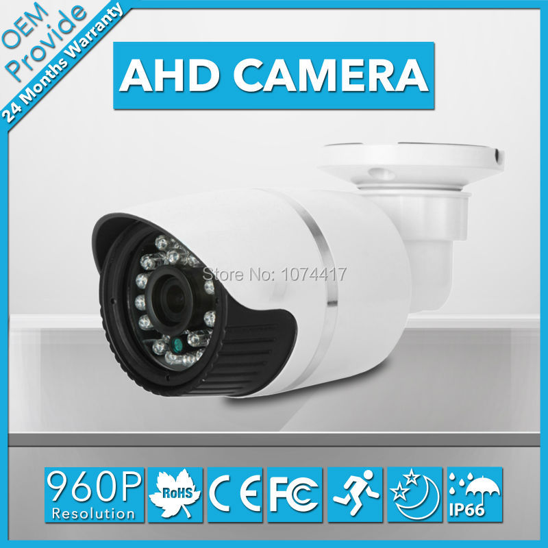 AHD3613LG  New Housing Good Night Vision 960P Security Surveillance 1.3 MP 3.6/6MM Lens IR Cut Filter Security AHD Camera<br>