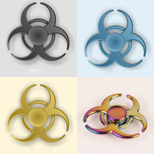 2017 New EDC Fidget Spinner Toys Pattern Hand Spinner Metal Fidget Spinner and ADHD Adults Children Educational Toys Hobbies