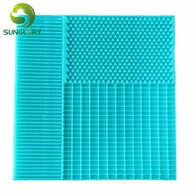 Stripe Lace Mat Mermaid Fish Scale Silicone Mold Grid Fondant Embosser Texture Cake Mold Decoration Gumpaste Mould Baking Tools