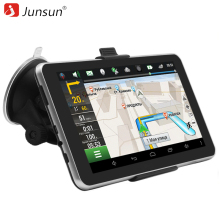 "7"" Android 4.4 Car GPS Navigation navigator MT8127A Quad-core Bluetooth WIFI Navitel/Europe/Russia Map Vehicle gps Capacitive"
