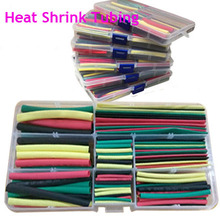 Wholesale 180pcs 4 Colors Heat Shrink Tube Assorted Cable Wire Wrap Electric Insulation Sleeve cable sleeve