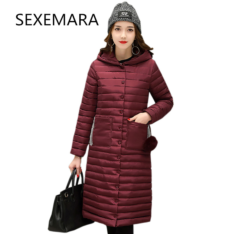 2017 fashionable jacket female spring Autumn And Winter new  warm female cotton jacket loose parks Hooded coat women LU182Îäåæäà è àêñåññóàðû<br><br>