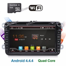 VW Radio Android 6.0 Quad Core 800*480 Car DVD Player Stereo Navi For VW Skoda POLO GOLF PASSAT CC JETTA Steeringwheel OBD WIFI(China)