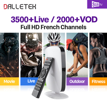 Buy Dalletektv IPTV Arabic French Brazil IPTV Box Android 6.0 Smart TV Box SUBTV Subscription 3500+ Turkish Albania EX-YU IPTV Box for $76.95 in AliExpress store