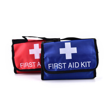 1 Pc Outdoor Rescuing Equipment Camping Hiking Medical Emergency Treatment Pack Wilderness Survival First Aid Kit Medical Bag(China)