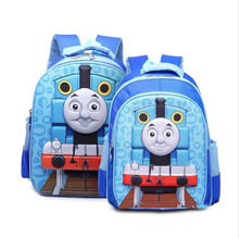 Cartoon Cute Train Thomas School Bags for Teenagers Children kids School Backpack for Boys Girls Children's Backpacks Mochila
