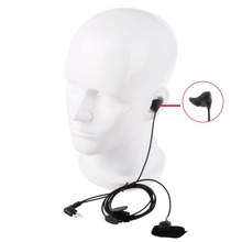High Qaulity Ear Bone Vibrate Earpiece Finger PTT Headset for Motorola for GP88 GP88S GP2000 CP200 HYT TC-500 TC-600 Two way B0