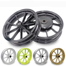 JOG FORCE RSZ 100 100cc 2.15x10 Inch 6300 Front Rear Scooter Aluminum Motorcycle Wheel Rims(China)