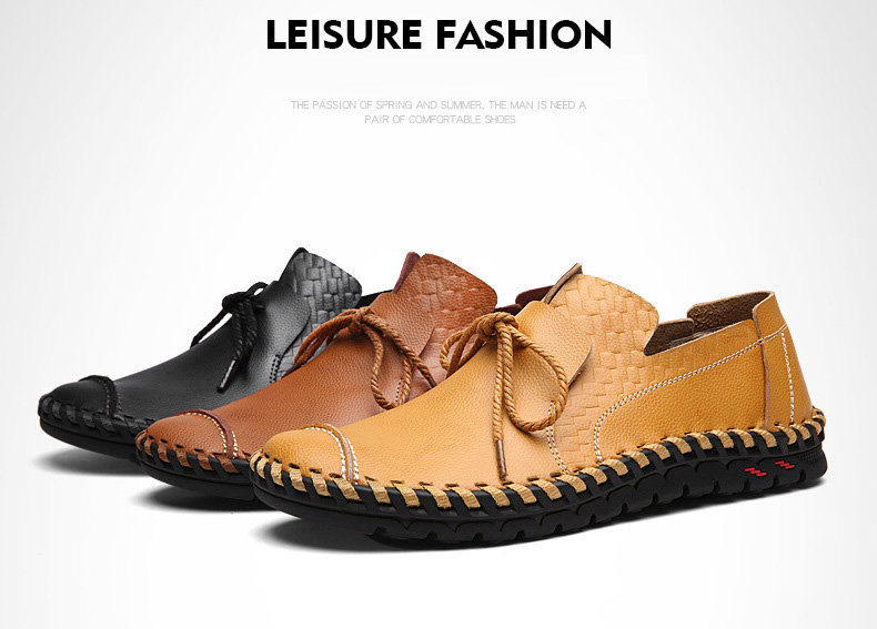 d07a64477 Men s Shoes - Summer Comfortable Handmade Driving Moccasins Men ...