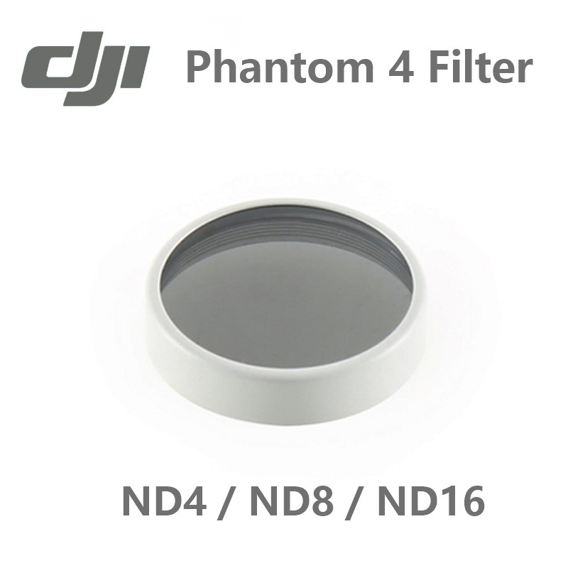 DJI Phantom 4 ND4 ND8 ND16 Filter Reduces The Amount Of Light Coming Into The Sensor dhi drone camera filter<br><br>Aliexpress