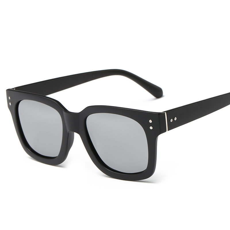 Laura Fairy Fashion Cool Style Square Sunglasses Rivet Decoration Big Frame Sun Glasses Flexible TR90 Polarized Sunglass 2017<br><br>Aliexpress