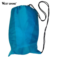 WEST BIKING Fast Inflatable Camping Sofa Banana Sleeping Bag Hangout Nylon lazy laybag Air Bed chair Couch Lounger Sleeping Bag