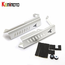 KEMiMOTO For Yamaha MT09 MT-09 MT 09 FZ09 Motorcycle Accessories Radiator Grille Guard Protector Side Covers 2014 2015 2016(China)
