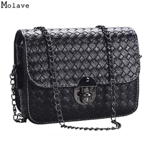 Buy High PU Leather Vintage Girl Mini Small Woven Pattern Shoulder Bag Handbag Messenger Bags Dec19 for $6.11 in AliExpress store