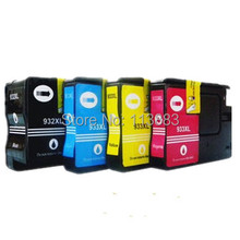 10set Full ink 4 color 932 933 932XL 933XL compatible ink cartridge For HP Officejet Pro 6100 6600 6700 7110 Printer with chip(China)