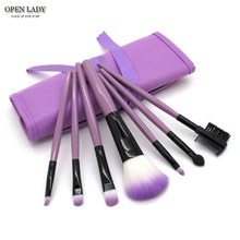 7pcs/kits Makeup Brushes Professional Set Cosmetics Brand Makeup Brush Tools Foundation Brush For Face Make Up Beauty Essentials(China)