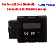 DHL FREE Bluetooth for Renault com auto car Diagnostic tool Programming Scan Tool for Renault can clip interface car obd2 tool