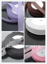 (choose 1 color) 20MM 50Yard Grosgrain Ribbon Riband Band  Hair Jewerly Findings