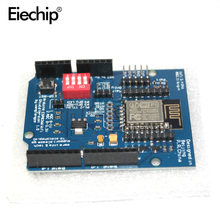 ESP8266 ESP-12E UART WIFI Wireless Shield Development Board For Arduino UNO R3 Circuits 70 x 60 x 20 mm Boards Modules(China)