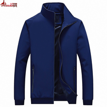 UNCO&BOROR new spring fall Jacket Men Fashion Casual elastic fabric Mens Jacket Sportswear Bomber Jacket Mens jackets and Coats