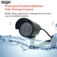 FGHGF Fake Dummy Camera Waterproof Outdoor Indoor Security Home CCTV Surveillance Camera Flashing Red LED AAA Battery Hot Sale(China)