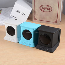 XC-Q1 Mini Bluetooth Speaker Portable Wireless Stereo Sound Box support TF Card FM Radio hands free call for phone(China)