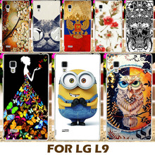 DIY Painting Design Hard Plastic Case For LG Optimus L9 P765 P760 P768 4.7 Inch Phone Cover Protective Sleeve Para Shell Capa