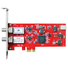 EU Warehouse Shipping!TBS6902 DVB-S/S2 Dual Tuner PCIe Card for Enjoying Digital Satellite FTA TV Channels on PC
