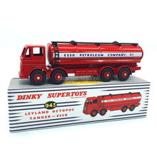 Dinky toys Supertoys 943 Atlas 1:43 Scale car model Leyland Octopus Tanker ESSO Alloy Diecast Car model & Toys Model