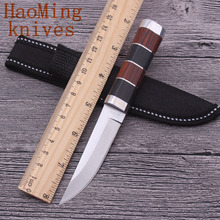 Mini fixed blade fighting knife camping survival pocket knives outdoor hunting PortableTactics EDC diving tools the best gift(China)