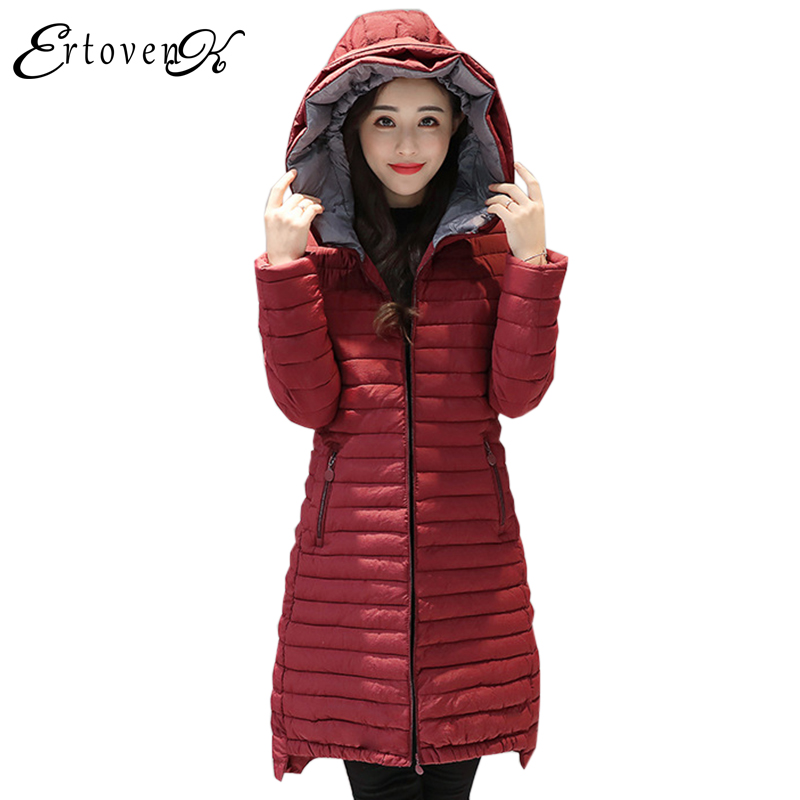 Hot Sale Women Winter Outerwear 2017 Cotton Coats Thicker Slim Jackets Long Sleeves Clothes Plus Size Top casaco feminine LH073 Îäåæäà è àêñåññóàðû<br><br>