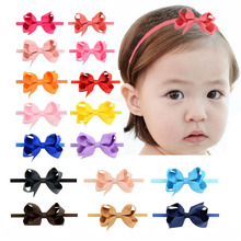 Kids Bow Headbands Baby Girls  Hair Bands For Newborn Girls Hair Head Band Children Multicolor Hair Accressories