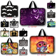 "Custom printing soft neoprene notebook handle sleeve laptop handle bag 10"" 12"" 13"" 14"" 15"" 17"" for macbook dell sumsung hp"