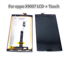 For Oppo OPPO Find 7 X9007 Digitizer Assembly LCD Display With Touch Screen Replacement Parts With Free Tools New arrival