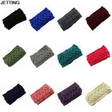 2017 Plum Knit Headband Chunky Knit Headband Earwarmer Knit Wool Headband For Women Girls Fall Winter Accessories