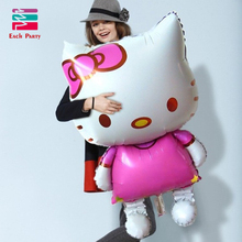 Hello Kitty Foil Balloons Children Birthday Gifts Inflatable Classic Toys Wedding Decorations Ballons Baby Shower Party Supplies