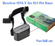 Receiver Only for Underground Electric Dog Pet Fencing System In-Ground Electric Dog Fence Shock Collar Dog Training Collar(China)