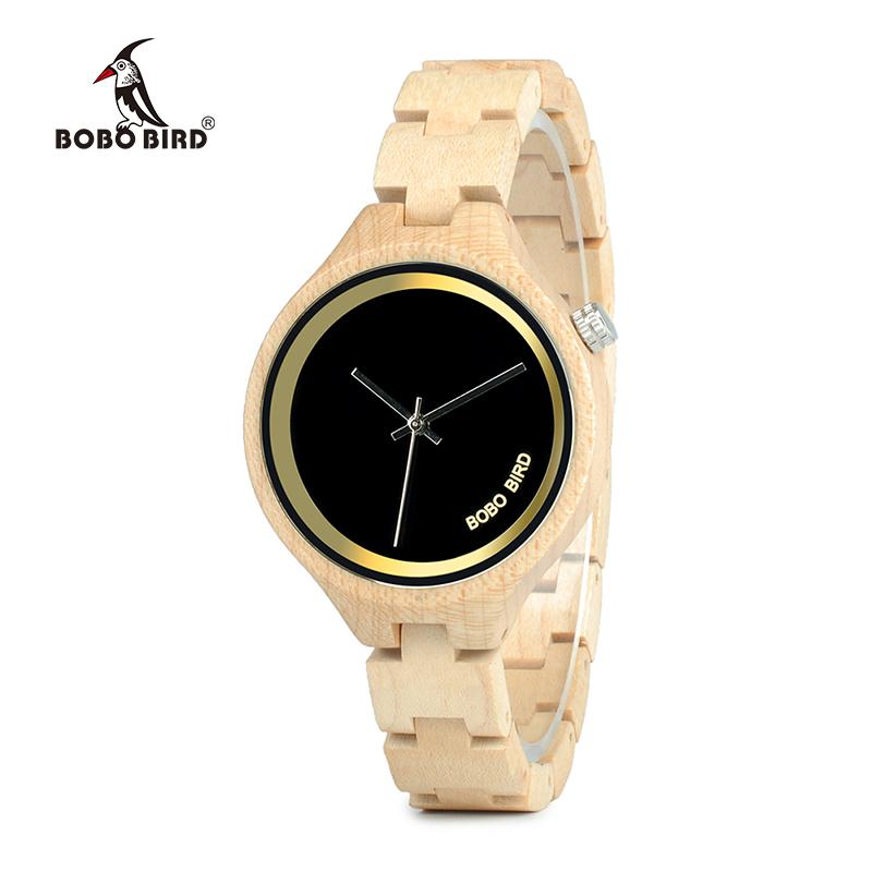 ساعة يد نسائية BOBO BIRD الخشبية الاصلية 3