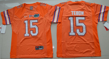New Arrival High Quality Nike Florida Gators Tim Tebow 15 College T-shirt Jersey - Orange Size S,M,L,XL