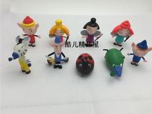 50pcs/lot anime figure little kingdom and Holly Bulk doll wholesale furnishing articles Anime peripheral capsule toys home decor