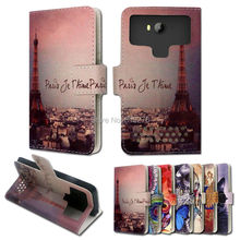 stand style printed cartoon painting flip leather case for BQ BQS-5060 Slim ,for BQ-5022 Bond,for BQ BQ-5032 Element ZY03