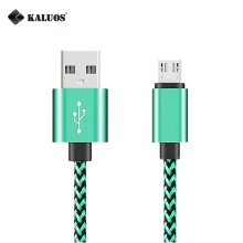KALUOS 20cm 1m 2m 3m Micro USB Phone Charger Cable Samsung S4 S6 S7 LG G3 G4 Redmi 1S Note2 Android Data Sync Charging Cable
