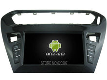 Android 5.1.1 CAR Audio DVD player gps FOR CITROEN  ELYSEE/301 2012  Multimedia navigation head device unit receiver