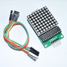 1PCS MAX7219 Dot Led Matrix Module MCU LED Display Control Module Kit