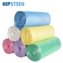 HIPSTEEN 6 Rolls Thicken Kitchen Utensil Household Points Off Trash Can Bin Rubbish Garbage Bag For The Kitchen- Color Random